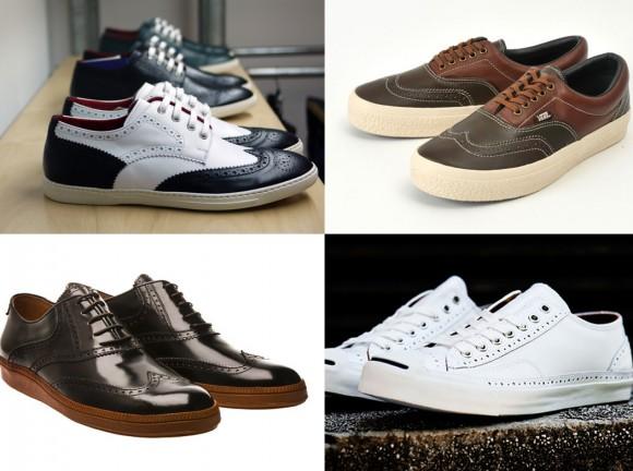be844b8083 TÊNIS OXFORD. Os sapatos Oxford ...